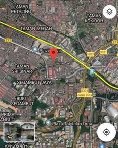 Below MV 2 Storey Taman Segambut Damai Freehold