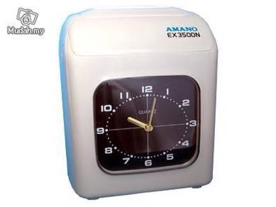 AMANO EX3500N (JAPAN) Time Recorder Punch Machine