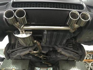 Bmw STAINLESS STEEL exhaust system set