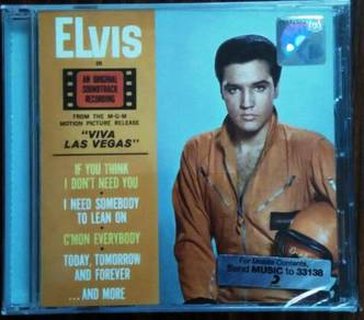 CD ELVIS PRESLEY Viva Las Vegas Soundtrack