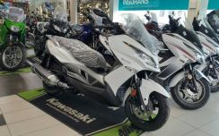 Kawasaki Maxi Scooter J300 ABS YEAR END SALES (KM)