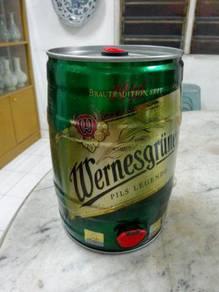 TExp Wernesgruner Tin Barrel