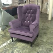 Wing chair fabric(GR-138)08/12