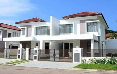 Luxury Double Storey Semi-D 50 x 105 0% Downpayment Cash Back Rm150k