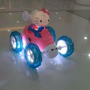 RC Hello Kitty Stunt Car for kids jb Promotion`