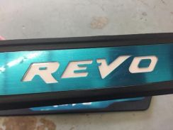 Toyota revo / hilux side step with white led
