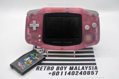 Gameboy Advance Fuchsia SIMS