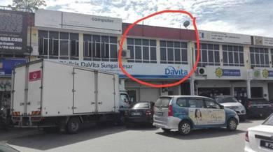Shop lot office space jalan utama sungai besar sabak bernam