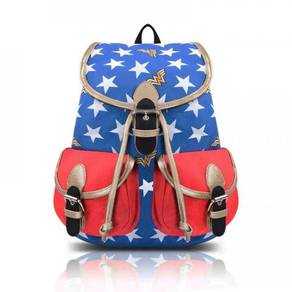 Wonder Woman Knapsack Backpack Bag G47