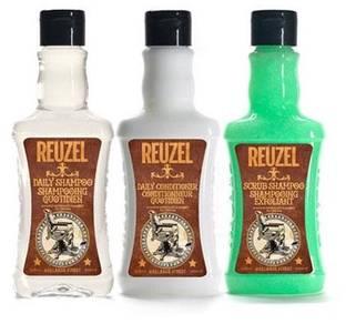Reuzel Hair Shampoo Conditioner And Scrub Pomade