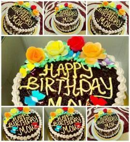 Kek birthday IZDA
