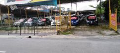 Land for rent USED CAR TANAH SEWA 10500sqf 100 units car can parking