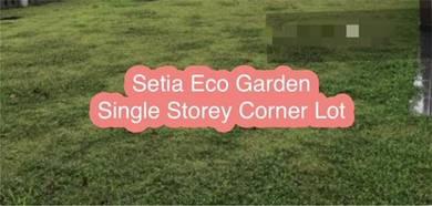 Setia Eco Garden Single Storey Corner Lot Fully Furnished