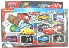 2-in-1 McQueen Car Super Racing Race3 Pull Back To