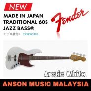 Fender Traditional '60s Jazz Bass, Arctic White