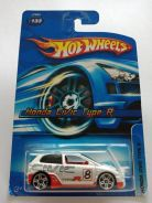 Hotwheels Honda Civic Type R EP3 White