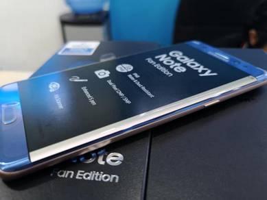 Galaxy Note FE 64GB /4GB Full Set SME Blue