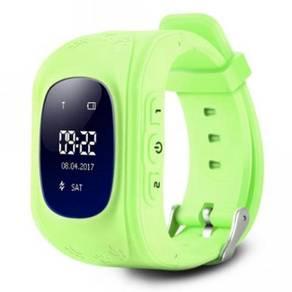 Q50 children oled display gps intelligent watch