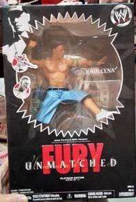 Unmatched Fury Platinum Edition John Cena Figure