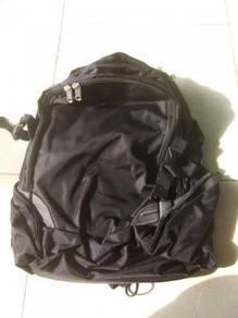 Big Black Computer Backpack