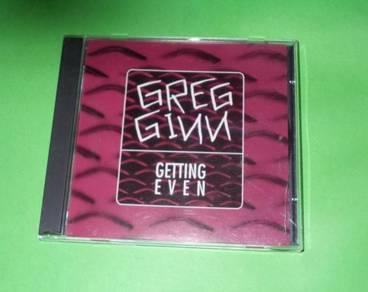 CD GREG GINN: Getting Even Album (1993) BLACK FLAG