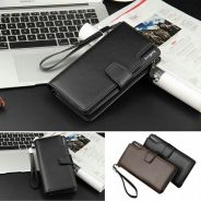 Long Wallet -black/coffee -kltn02