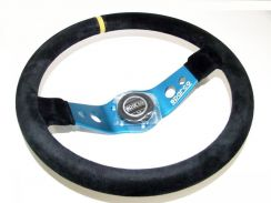 Sparco SAFARI L555 Steering Wheel Suede - 350mm