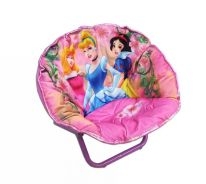 Fold-able cushion princess chair - with carry bag