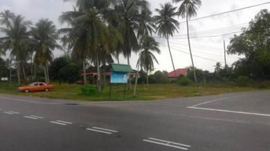Tanah tepi jalan Jubakar Pantai Tumpat