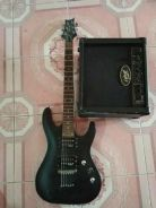 Gitar cleven cr & amp peavey