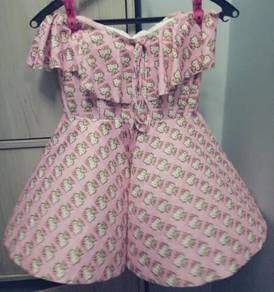 Hello Kitty swimsuit.