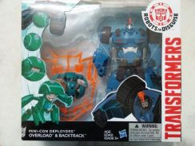 Transformer Mini con deployer overload & Bactrack