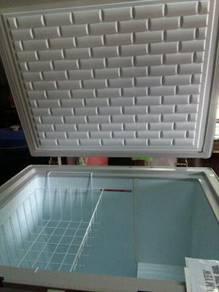 Freezer barang A++,dlm kotak
