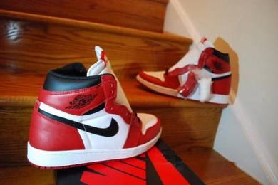 Nike Air Jordan 1 Retro White & Red