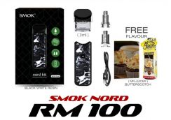 New Smok Nord (Black White Resin) - Pod Vape Vapor
