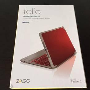 Zagg ipad air 2 keyboard folio case