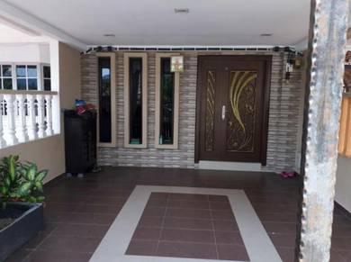Partly renovated double storey desa sri jenaris, kajang