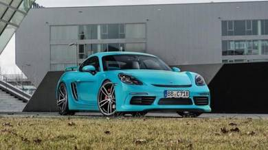 Porsche caymen boxter 718 techart aero kit