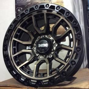 "Sport rim 4x4 ORIGINAL LENSO MAX-AMURO 16"""