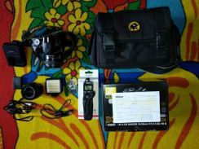 Nikon d3200 + gopro hero session 4