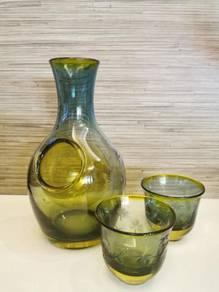 Original Japanese Handmade Sake Glass Set