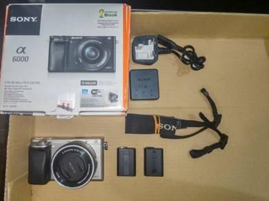 Sony A6000 + 16-50mm Kit Lens