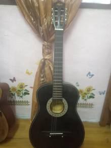 Guitar Kapok Hitam