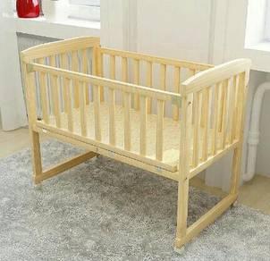 Katil kayu baby  baby court