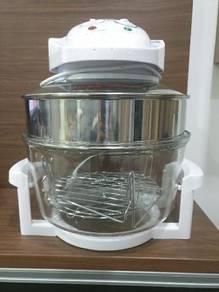 17L Halogen Convection Glass Bowl Oven