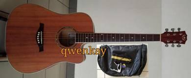 Acoustic Guitar 41Inch A&K #330 Mahogany