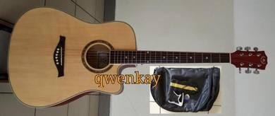 Acoustic Guitar 41Inch A&K #320