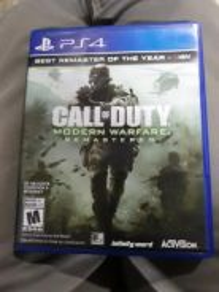 PS4 COD Modern Warfare Remastered