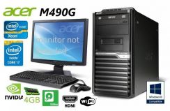 Acer M490 i5 Xeon Geforce Nvidia Gamer Ofis Win PC