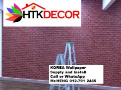 Install Wall Paper in your office 89EI